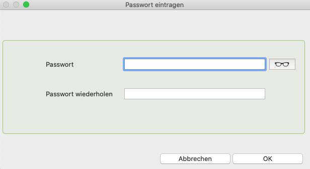 Pida faktura Passwort